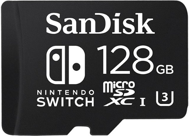 SanDisk Micro SD-kort for Nintendo Switch 128 GB