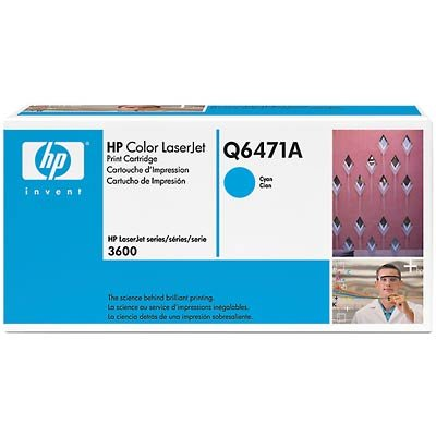 HP Laserjet 71A Cyan stor