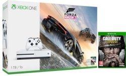 Microsoft Xbox One S 1TB Forza 3 og CoD: WWII