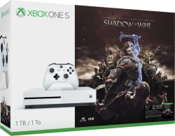 Microsoft Xbox One S 1TB Middle-Earth: Shadow of War