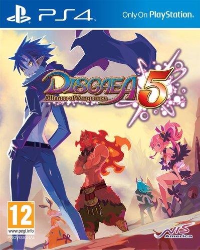 Disgaea 5: Alliance of Vengeance til Playstation 4