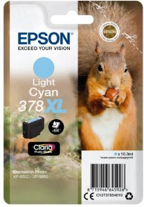 Epson 378XL Light Cyan