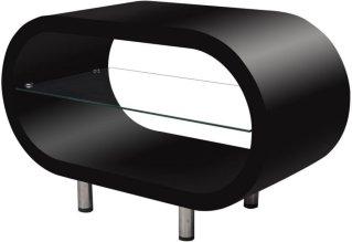 VidaXL Ovalt tv-bord
