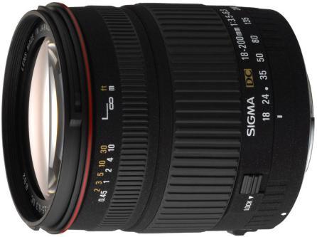 Sigma 18-200mm F/3.5-6.3 DC for Nikon