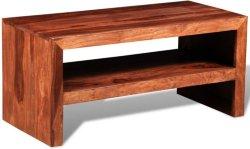 VidaXL TV-bord/sidebord av solid sheesham-tre