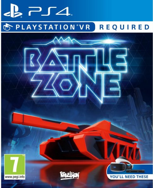 Battlezone VR til Playstation 4