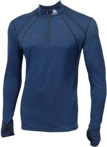 42d947481 Aclima Lightwool Zip Shirt (Herre)