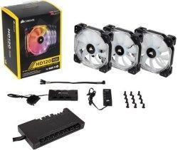 Corsair Commander Pro m/ HD120 RGB Triple Pack