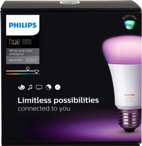 Philips Hue White and Color Ambiance E27 Richer Colors 806lm Startpakke