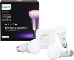 Philips Hue White and Color Ambiance Startpakke E27