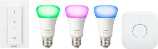 Hue White and Color Ambiance Startpakke E27 Richer Colors med dimmer