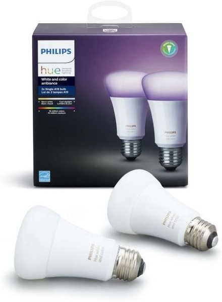 Philips Hue White and Color Ambiance E27 Richer Colors 2pk
