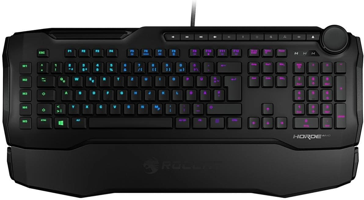 ROCCAT HORDE AIMO GAMING KEYBOARD BLACK Power.no