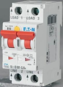 Eaton jordfeilautomat digital 6A 6/2/C/01-G/A