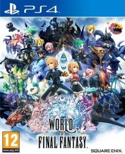 World Of Final Fantasy til Playstation 4