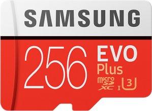 Samsung MicroSD Evo Plus 256GB med SD-adapter