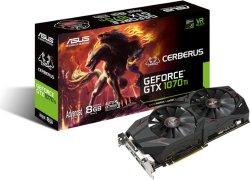 Asus GeForce GTX 1070 Ti Cerberus 8GB