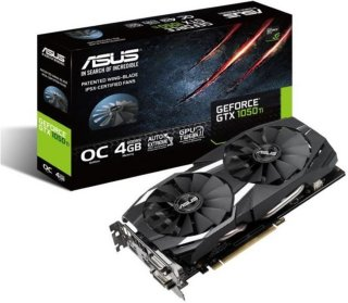Asus GeForce GTX 1050 Ti DC2 OC Edition 4GB