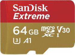 SanDisk MicroSDHC Extreme 64GB