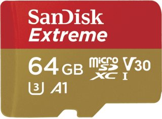 SanDisk Extreme microSDXC A1 64GB