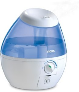 Vicks Mini Ultrasonic Humidifier VUL520E4