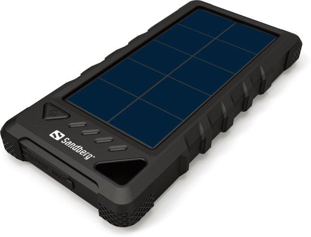 Best pris på Sandberg Outdoor Solar Powerbank 24000 (420 38