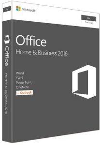 Microsoft Office Mac 2016 Home & Business (Engelsk)