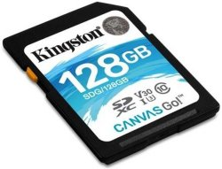 Kingston SDXC Canvas Go! SDG/128GB