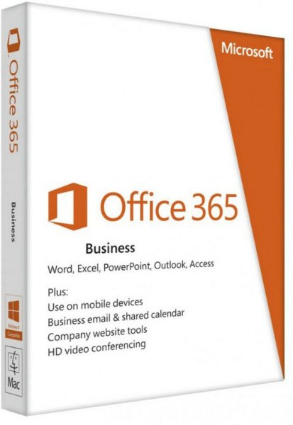 Microsoft Office 365 Business (Månedlig)