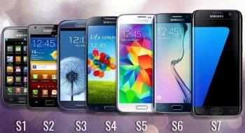 Sju år med Galaxy S - i dag kommer neste modell