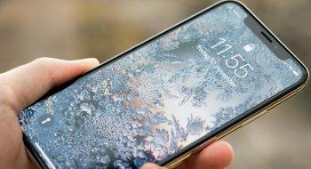 iPhone X-skjermen «fryser» når det blir kaldt