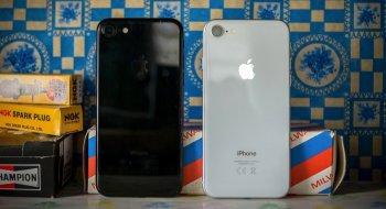 Apples mobilsalg sliter. – Selger flere iPhone 7 enn iPhone 8