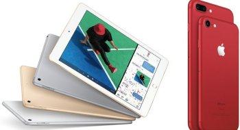 Apple lanserer ny iPad og knallrød iPhone