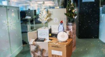 Konkurranse: Aller første luke i Teks julekalender er åpnet