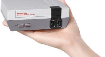 Miniatyrutgave av Nintendo Entertainment System kommer til høsten