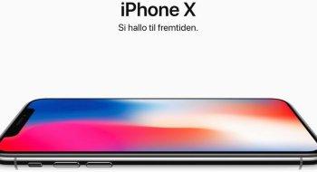 Nå kan iPhone X forhåndsbestilles