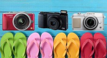 Mange spennende speilløse kameraer i juni