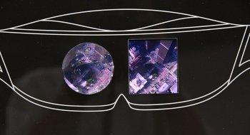 VR-skjermen til Sharp har over 1000 piksler per tomme