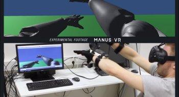 Her ser han hele armen sin i VR-verdenen med HTC Vive