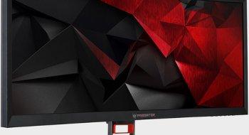Acers nye spillskjerm er svær, bred og buet