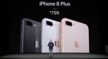 Apple iPhone 8 og iPhone 8 Plus er lansert