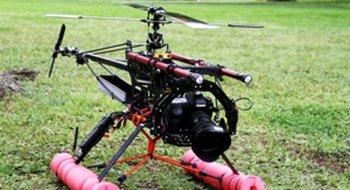 EOS 7D på helikopter