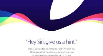 Apple lanserer iPhone 6S den 9. september