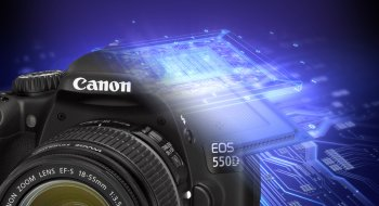Ny firmware til EOS 550D