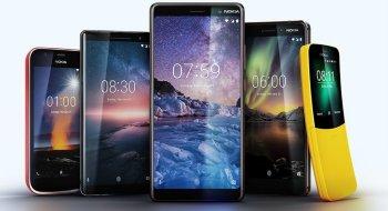 Nå vil Nokia inn i varmen igjen. Lanserte fem nye modeller