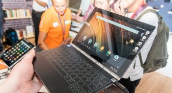 Test: Lenovo Yoga Book (ZA0V0038SE)
