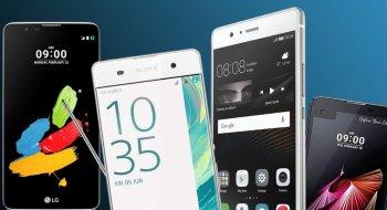 Ti nye mobiler på vei ut i butikkene i juni