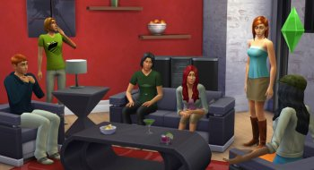 The Sims 4 utsettes