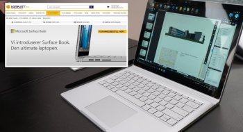 Komplett: Surface Book til Norge 3. mars