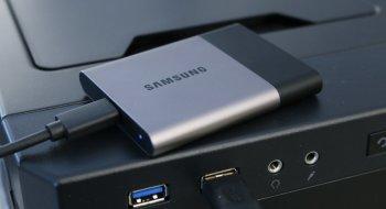 Test: Samsung Portable SSD T3 500GB